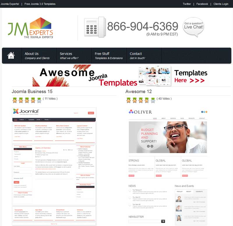 joomla expert Joomla expert developer converts your beautiful psd to joomla template which will be w3c joomla expert developer can design a professional joomla template to make it more effective and.