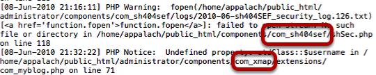 Белый экран смерти в Joomla – ошибка warning