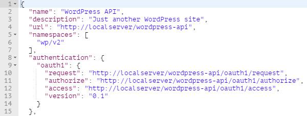 WP REST API - настройка и использование OAuth 1.0a ...