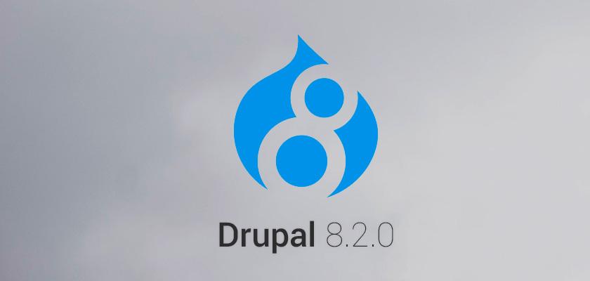 Вышел релиз Drupal 8.2.0