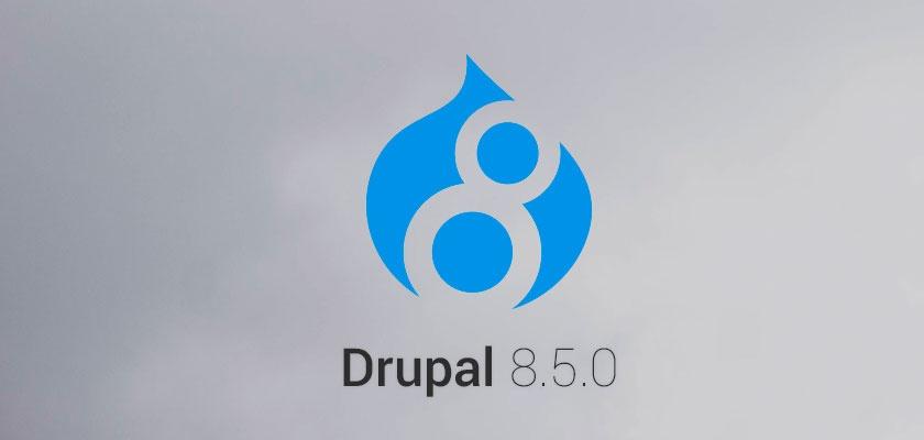 Вышел релиз Drupal 8.5.0