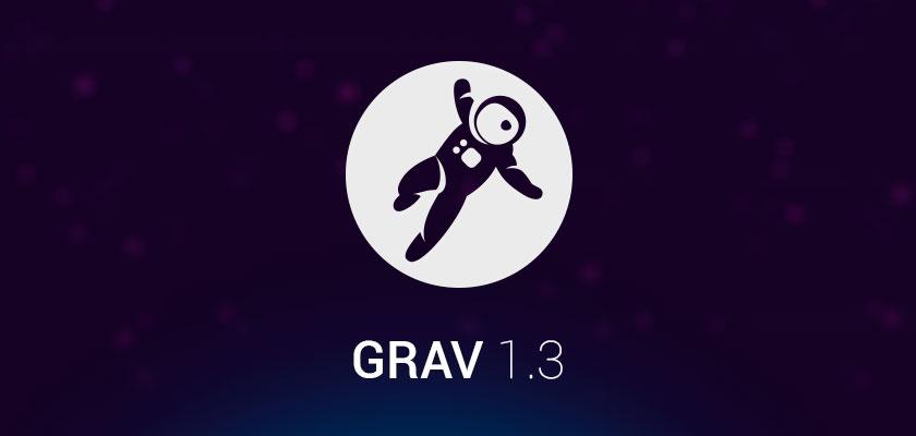 Новая версия Grav 1.3 и Admin 1.5
