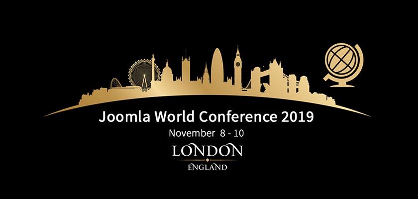 Всемирная конференция Joomla 2019 пройдёт в Лондоне!