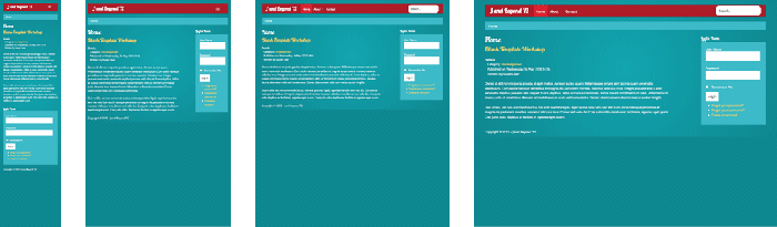 Blank template twitter for Joomla empty template